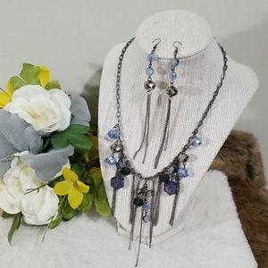 🎁BOGO sale! Faceted beads fashion necklace set